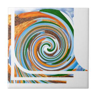 Tornado Revolution Waves : Nature Blaast Beautiful Ceramic Tiles