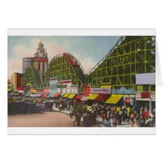 Tornado Roller Coaster - Coney Island NY /The Bobs Card