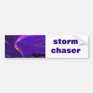 tornado storm chaser bumper sticker