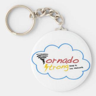 Tornado Strong Logo Keychain