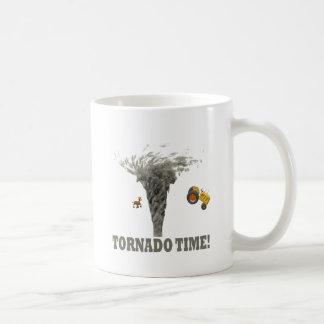 TORNADO TIME COFFEE MUG