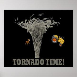 TORNADO TIME PRINT