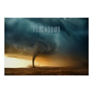 Tornado Touchdown Poster