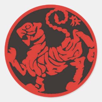 Toro_red Round Sticker
