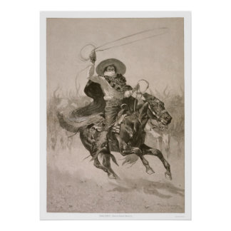 Toro, Toro by Frederic Remington  Poster