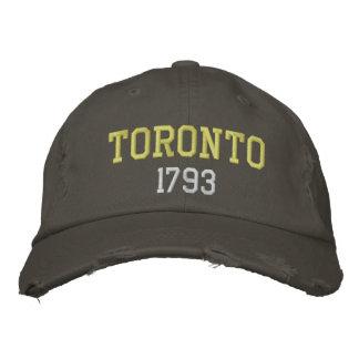 Toronto 1793 embroidered hats