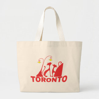 Toronto 1 large tote bag