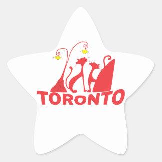 Toronto 1 star sticker