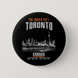 Toronto 2 Inch Round Button