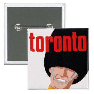 Toronto 2 Inch Square Button