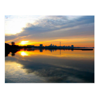 Toronto at Sunrise - Postcard