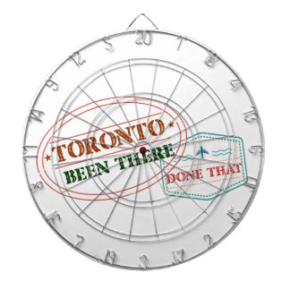 Toronto Been there done that Dartboard