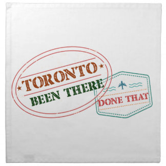 Toronto Been there done that Napkin