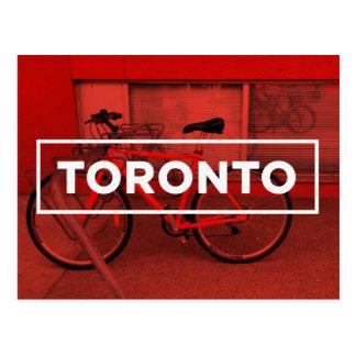Toronto Bike Postcard