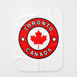 Toronto Canada Burp Cloth