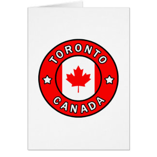 Toronto Canada Card
