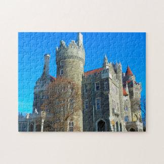 Toronto Canada  Casa Loma. Jigsaw Puzzle