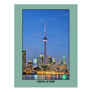 Toronto, Canada CN Tower photo Postcard