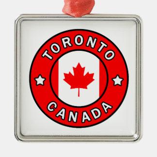 Toronto Canada Metal Ornament