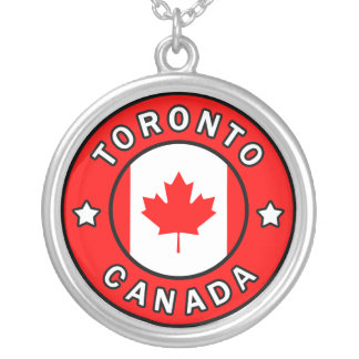 Toronto Canada Silver Plated Necklace