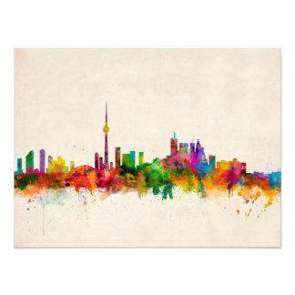 Toronto Canada Skyline Art Photo