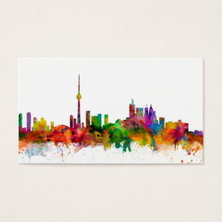 Toronto Canada Skyline Business Card