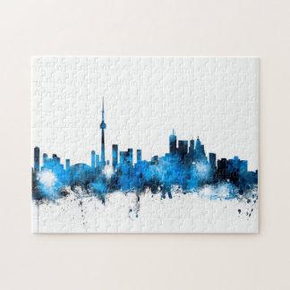 Toronto Canada Skyline Jigsaw Puzzle