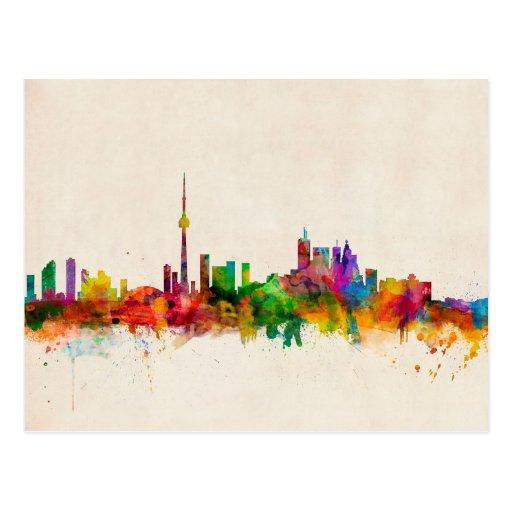 Toronto Canada Skyline Post Cards