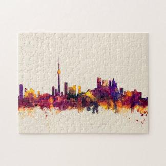 Toronto Canada Skyline Puzzle