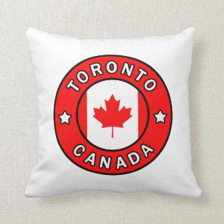 Toronto Canada Throw Pillow