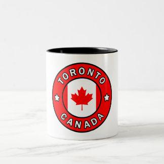 Toronto Canada Two-Tone Coffee Mug