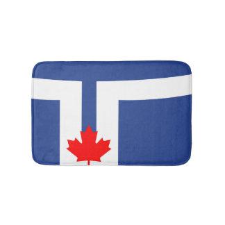 Toronto city flag canada symbol bath mat