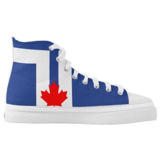 Toronto city flag canada symbol high tops
