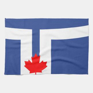 Toronto city flag canada symbol kitchen towel