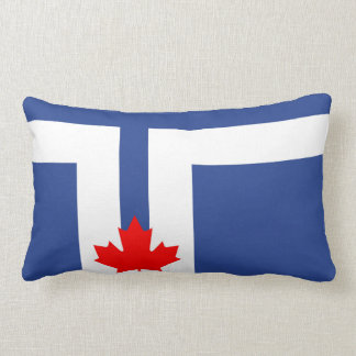 Toronto city flag canada symbol lumbar pillow