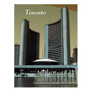 Toronto city hall postcard
