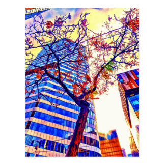 Toronto City Skyscape by Shawna Mac Postcard