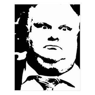 Toronto Crack Smoking Mayor Rob Ford Postcard