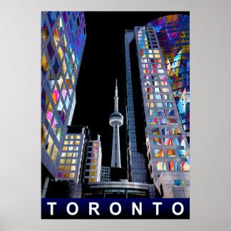 Toronto dans le graffiti poster