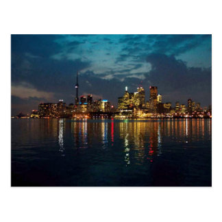 Toronto DownTown Spectacle CNTower Waterfront fun Postcard
