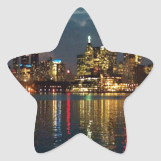 Toronto DownTown Spectacle CNTower Waterfront fun Star Sticker