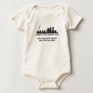 Toronto Earthquake 2010 Baby Bodysuit