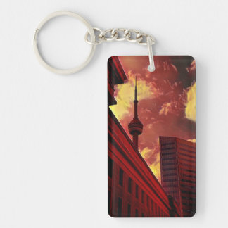 TORONTO, Fall colors-(double-sided) Keychain