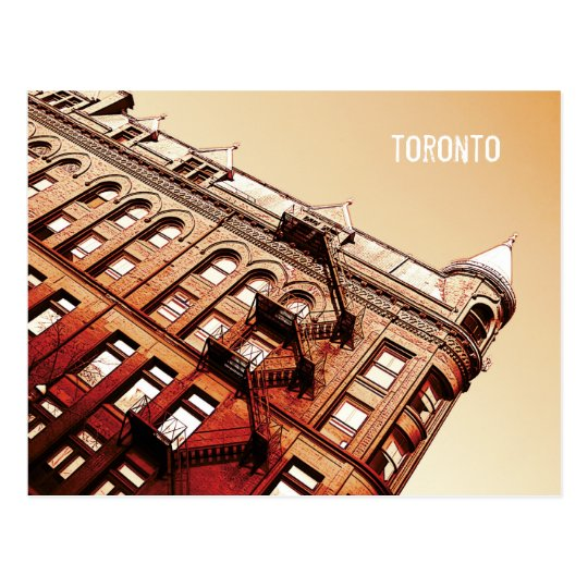 Toronto Flat Iron building postcard