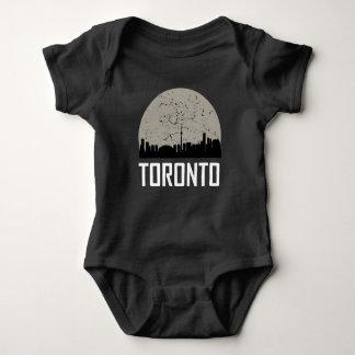Toronto Full Moon Skyline Baby Bodysuit