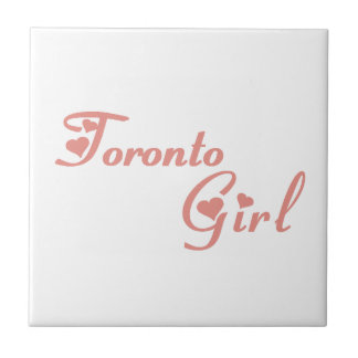 Toronto Girl Ceramic Tile