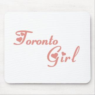 Toronto Girl Mouse Pad