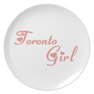 Toronto Girl Plate
