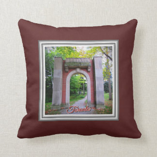 Toronto Guild Park Images Throw Pillow