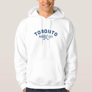 Toronto Hockey City Blue Logo Hooded Sweatshirt